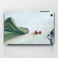 circle iPad Cases featuring Circle by The Being art