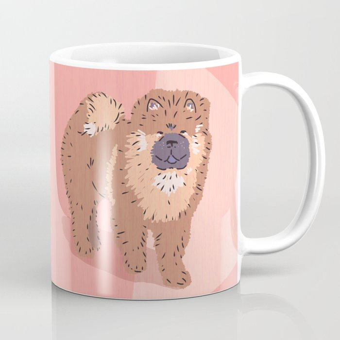 City Dogs Chow Chow Coffee Mug By Chrisolson Society6