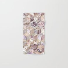 Blush Quartz Honeycomb Hand & Bath Towel