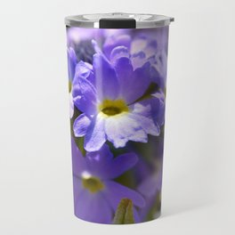 Purple Primrose Travel Mug