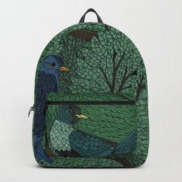 Blue Birds Backpack