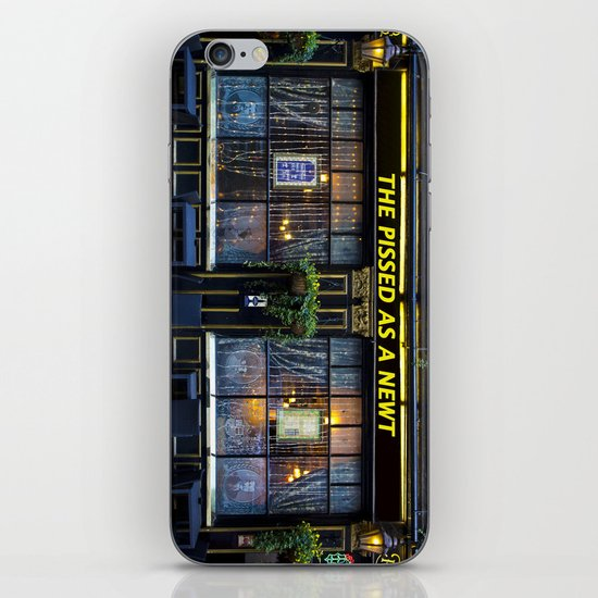 The Pissed as a Newt Pub iPhone & iPod Skin