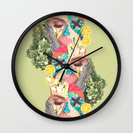 Carioca Collag Wall Clock