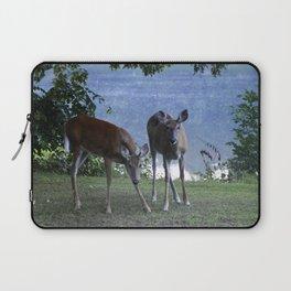 Grazing Deer Laptop Sleeve