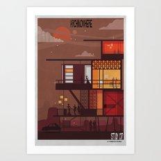 ARCHINOWHERE 017_study Art Print