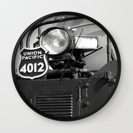 Union Pacific Big Boy Detail Wall Clock