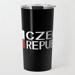 Czech Republic: Czech Flag & Czech Republic Travel Mug
