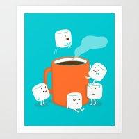 budi Art Prints featuring Cannonball by Picomodi