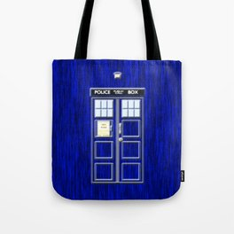 Tardis Art Blue Phone Both Tote Bag