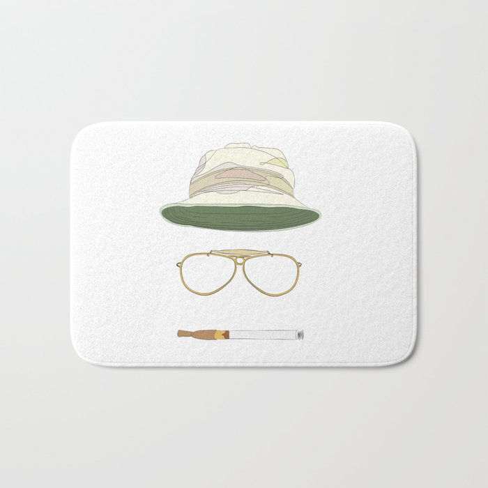 Movie Icons: Fear and Loathing in Las Vegas Bath Mat