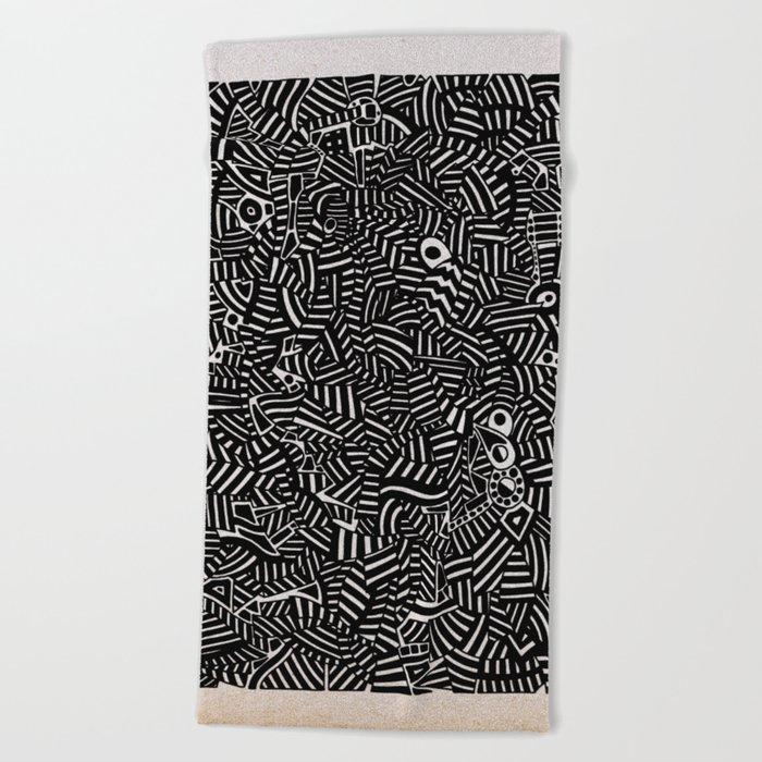 - the doubt - Beach Towel