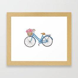 Bicycle art Bicycle print Bicycle wall art Bicycle poster Vintage bicycle art Framed Art Print