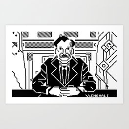 Emomali Art Print
