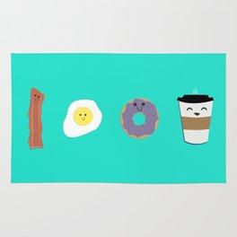 Breakfast Buddies Rug