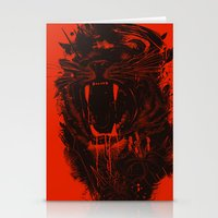 king Stationery Cards featuring The King by nicebleed