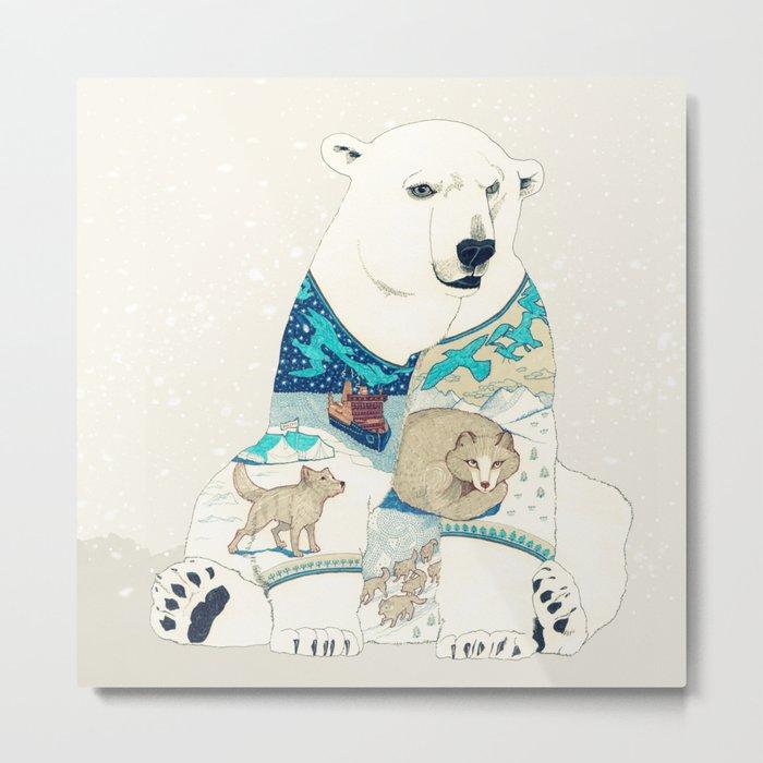 Polar Bear Metal Print