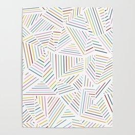 Ab Linear Rainbowz Poster