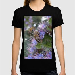 Bees on Buddleia T-shirt