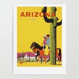 Vintage Arizona  Poster