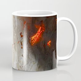 Flaming Seashell 2 Coffee Mug