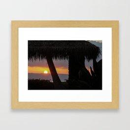 aloha ahiahi Framed Art Print