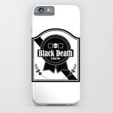 Black Death Ribbon Slim Case iPhone 6s