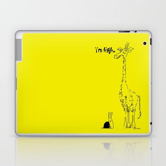 High Giraffe Laptop & iPad Skin