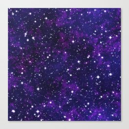 winter galactic Canvas Print