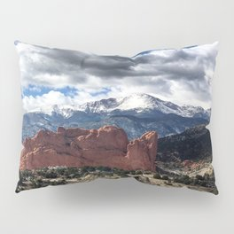 Pikes Peak - Colorado Springs Pillow Sham