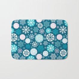 Magical snowflakes IV Bath Mat
