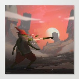 Jacobo the Limb Wizard Canvas Print