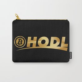 Bitcoin Hodl (Hold) Carry-All Pouch