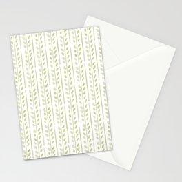 Helecho stripes Stationery Cards
