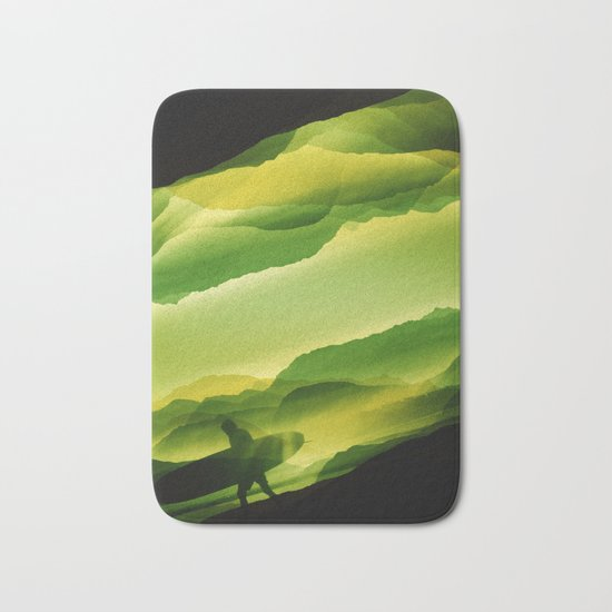 Plastic Surfing Bath Mat
