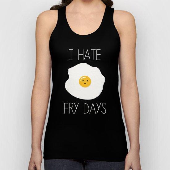 I Hate Fry-Days Unisex Tank Top
