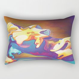 The United Colours of Orgasm Thermal Nude Rectangular Pillow