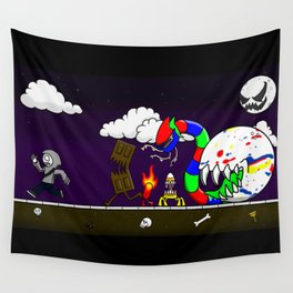 The Candy is Coming! Wall Tapestry