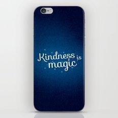 kindness is magic iPhone & iPod Skin
