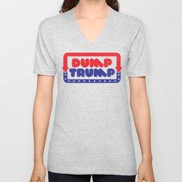 Dump Trump Unisex V-Neck