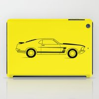 mustang iPad Cases featuring Mustang Boss by Adil Siddiqui