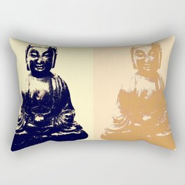 One Moment Can Change A Day, Little Buddha Rectangular Pillow