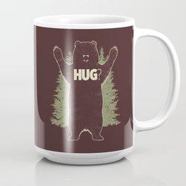 Bear Hug? (dark version) Coffee Mug