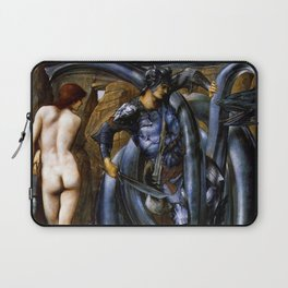 "Edward Burne-Jones ""The Doom Fulfilled (Perseus Slaying the Sea Serpent)"" Laptop Sleeve"