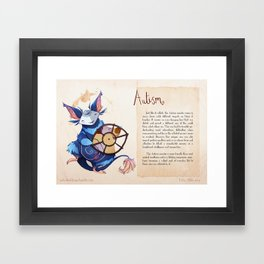 Real Monsters- Autism Framed Art Print