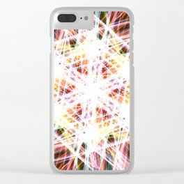 Blinding Clear iPhone Case