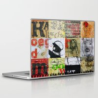 notebook Laptop & iPad Skins featuring SCHOOL NOTEBOOK by db Waterman