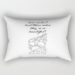 Beautiful Animals Rectangular Pillow
