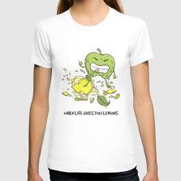 When Life Gives You Lemons by dana alfonso T-shirt
