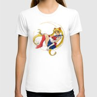 sailor moon T-shirts featuring Sailor Moon by Brittany Ketcham