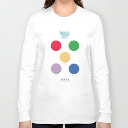 Inside Out - Minimal Movie Poster, animated movie, Long Sleeve T-shirt